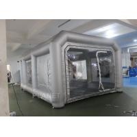 Buy cheap Environmental Mini Blow Up Spray Booth For Car Cover / Automotive Paint Booth from wholesalers