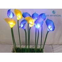 Buy cheap Conductive Lighted Artificial Trees Calla Lily Flower Shape Silicon Material from wholesalers