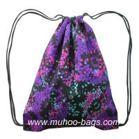Buy cheap Fashion String bag, Backpack,Promotion bag MH-2121 purple range from wholesalers