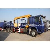 Buy cheap 336HP Construction Boom Truck Crane With 12000kg Max Lifting Capacity from wholesalers