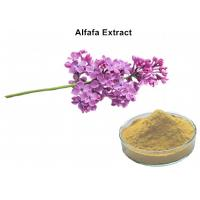 Buy cheap Alfafa Plant Extract Powder 5% Flavonoids UV Lowering Blood Fat Chloresterol And Diuretic from wholesalers