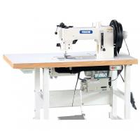 Buy cheap Flat Bed Compound Feed Walking Foot Heavy Duty Lockstitch Sewing Machine from wholesalers