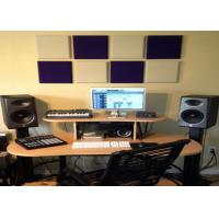 Buy cheap Colorful Sound Absorbing Panel Polyester Acoustic Panels Thickness 9mm product