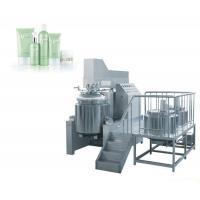 Pharmaceutical Ointment Vacuum Emulsifying Machine / 100L Vacuum Emulsifier