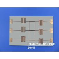 Buy cheap ROGERS RT/Duroid 6010 High Frequency PCB for Ground Radar Warning Systems from wholesalers