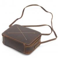Buy cheap Crazy horse leather Ipad bags for women fashion retro cube handbags from wholesalers