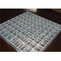 Buy cheap Powerful Open Steel Floor Grating , Anti Corrosion Welded Steel Bar Grating from wholesalers