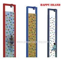 Buy cheap Indoor Vertical Children Climbing Equipment With Climbing Hold With Different Background from wholesalers