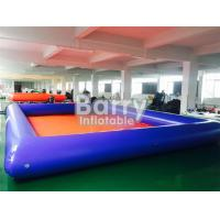 Summer Water Game Large Inflatable Backyard Swimming Pools With Customized Toys 107482078