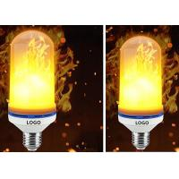 Buy cheap E27 E26 SMD LED Flame Electric Fire Light Bulbs Flickering Emulation Lamp from wholesalers
