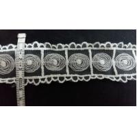 Buy cheap Cotton Lace ,embroidery lace, cotton/ polyester, lace for dress, 4.5cm from wholesalers
