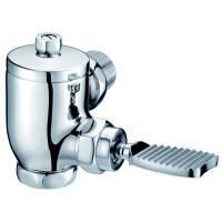 Buy cheap Foot Pedal And Auto Shut-off Exposed Toilet Flush Valve G1 from wholesalers