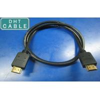Buy cheap HDMI 1.4 Version Custom Cable Assemblies Gold Color Connector For HDTV / PS3 from wholesalers