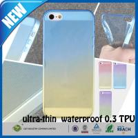 China Shockproof Transparent Rubber TPU Matte iphone 5s Custom Cell Phone Case on sale