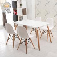 Buy cheap Modern Art Design Dining room Furniture Simple Metal Dining Table Set Chair and Table Wooden Dining Set from wholesalers
