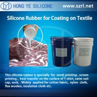 Buy cheap RTV-2 Coating Textiles Silicone Rubber from wholesalers