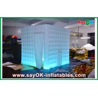 Buy cheap Led Lighting Inflatable Photo Booth , Exhibition Blow Up Photo Booth from wholesalers