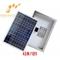 Buy cheap Poly Crystalline 45W 18V Solar Panel product