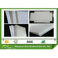 Buy cheap Environment one sie coated Duplex Board grey back in roll / sheets from wholesalers