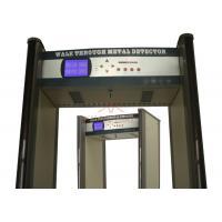 Waterproof 45 Zone Portable Door Frame Metal Detector Casinos Weapon Check  K645