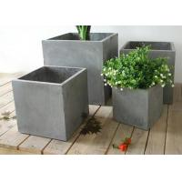 Buy cheap Large Flower Pot Molds Silicone Concrete Square Cement Flower Pot Moulds from Wholesalers