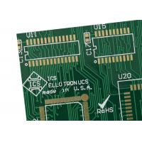 Buy cheap Epoxy Glass Fibre FR4 custom - made pcb Single Sided Copper Clad Prototype PCB from wholesalers