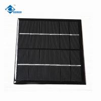 Buy cheap 1.8W Polycrystalline Solar Panel 6V For Solar Cell Phone Charger ZW-116116 Silicon Solar PV Module from wholesalers