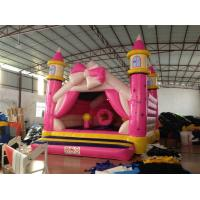 Buy cheap Princess Kids Inflatable Bounce House Pink Bowknot Inflatable Jump Castle from wholesalers