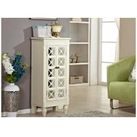 Buy cheap Large Standing Mirror Wooden Jewelry Box With Glass Door / Drawers from wholesalers