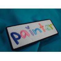 Buy cheap Personal Custom Clothing Patches , One Side Printable Iron On Patches from wholesalers