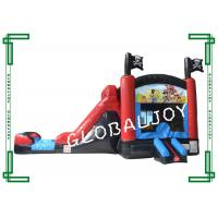 Buy cheap Printed Water Proof Inflatable Combo Jumper Bounce House Obstacle Course from wholesalers