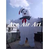 Buy cheap custom giant 4 m H stay puft marshmallow man inflatable for advertising from wholesalers