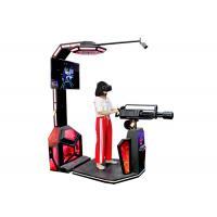 Buy cheap Amusement Park VR Shooting Simulator Gun Standing Platform Big LED Screen product