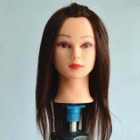 Buy cheap New Design Female Mannequin Head, Stable quality Brown hair from wholesalers