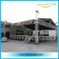Buy cheap Aluminum Stages With Roof Truss Type For Outdoor Ceremony Show from wholesalers
