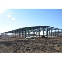 Buy cheap Thermal Insulation Structural Steel Warehouse , Fireproof Metal Workshop Building from wholesalers