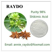 Buy cheap High Purity Low Price 98% Aniseed Extract Shikimic Acid CAS:138-59-0 from wholesalers