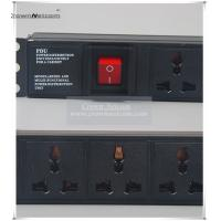 Buy cheap Univeral PDU Cabinet Socket 8 Ways Server Rack PDU 10A Socket Switch Power Distribution Un from wholesalers