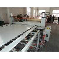 Buy cheap PS / ABS Stationary Plastic Sheet Extrusion Machine , Toy / Lunch Box Sheet Machinery from wholesalers