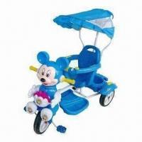 Buy cheap Baby Tricycle, Comes in Blue, Made of PP from wholesalers
