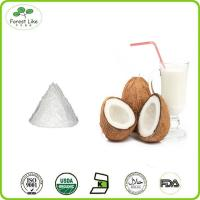 Buy cheap Whosale bulk low fat organic desiccated coconut milk powder from wholesalers
