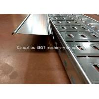 Buy cheap Full Automatic Cable Tray Roll Forming Machine , Cable Tray Manufacturing Machine from wholesalers