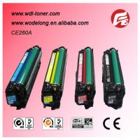 Buy cheap ce260a-ce263a compatible color toner cartridges for HP Color LaserJet CP4525DN,CP4525N from wholesalers