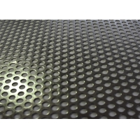 Buy cheap Galvanized Round Hole Perforated Sheet Metal Panels For Construction And Decoration from wholesalers