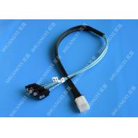 Buy cheap Flexible SAS To 4x SATA Forward Breakout Cable 3.3 Feet 30 AWG Style from wholesalers