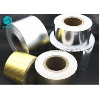 Buy cheap Bright Silver Gold Aluminum Tin Foil Wrapping Paper 50gsm - 80gsm Grammage product