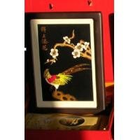 Buy cheap Straw painting, wheat straw picture distinctive folk handicraft in China, pure handwork craft,China's folk art, from wholesalers