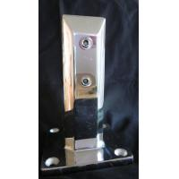 Buy cheap Stainless steel 316L square base plate glass spigot polished finish for swimming pool from wholesalers