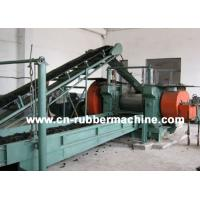 Buy cheap Two Roll Rubber Cracker Mill, Rubber Cracker Mill, Tire Recycling Machine (XKP-400) from wholesalers