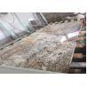Buy cheap Classic Bianco Antico Granite Slab , 100% Natural Stone Kitchen Granite Slab Brown from wholesalers